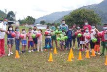 Se masifica la práctica deportiva en la zona rural de Saladoblanco