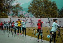 Colombia se destaca en equipo mixto de arquería