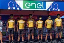 Equipo ciclista colombiano al Giro d'Italia sub – 23