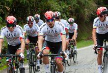 UAE Team Colombia arranca temporada con una concentración