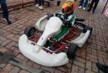 Tatán listo para debutar en la Easy Kart