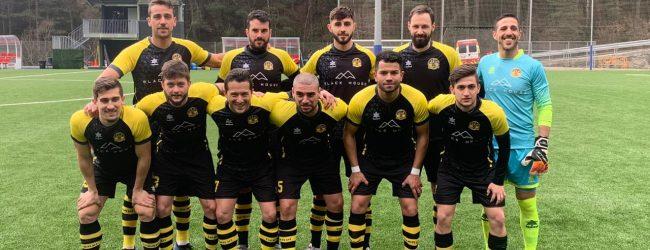 Pase gol de Bríñez en el fútbol de Andorra