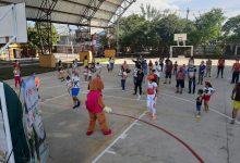 Menores hacen ejercicio con la Secretaría de Deportes de Neiva