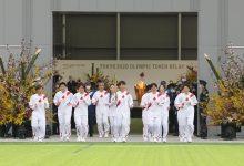 Comenzó el relevo de la antorcha olímpica en Japón
