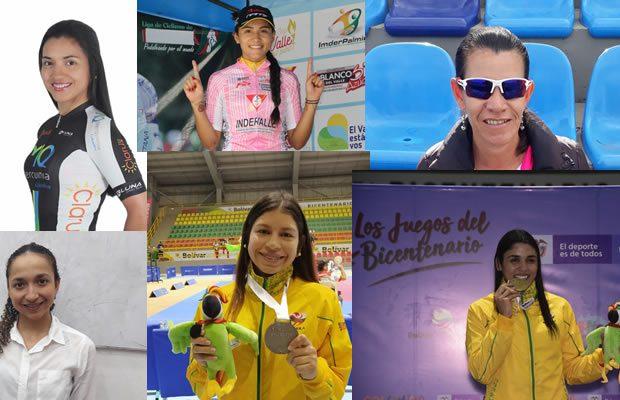 Las 10 mejores deportistas del Huila