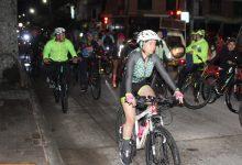 Lunada ciclomontañista por las mujeres en Pitalito