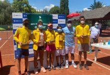 Gran semana para equipo juvenil de tenis colombiano