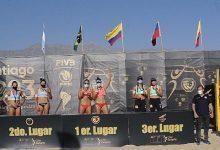 Colombia sin medallas en circuito de voley playa