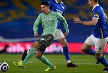 Con James y Mina, Everton no pasó del empate