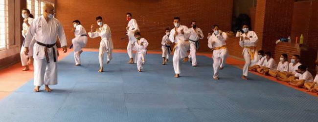 Karate opita agradecido con la Alcaldía por nuevo espacio
