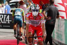 Muñoz y la alegría del Androni por el Giro