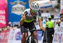 Muñoz puesto 40 en la Vuelta de la Juventud