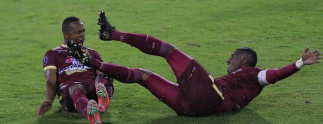 Tolima derrotado y último de la Copa Sudamericana