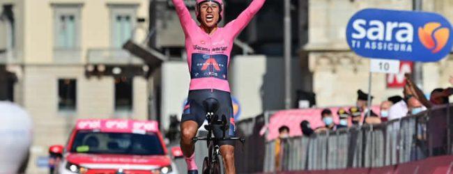 Egan Bernal, nuevo campeón del Giro d'Italia