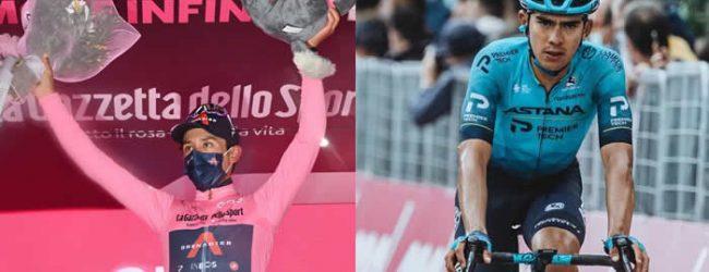 Giro: Egan tercero y sigue líder, Tejada fue 38