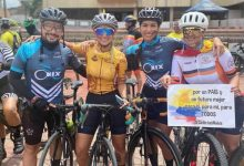 Ciclistas recreativos de Neiva corrieron por la paz