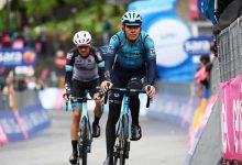 Tejada sube cuatro puestos en la general del Giro