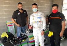 Medina se prepara para la segunda fecha del Nacam FIA F4