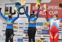 Pajón campeona de válida de Copa Mundo de BMX