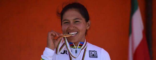 Carolina Munévar campeona mundial contrarreloj