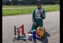 Tatán Garzón hizo trizas a sus rivales en la Easy Kart