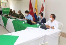 Ministro de Defensa de visita en Pitalito