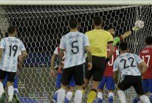 Argentina y Chile quedaron en tablas