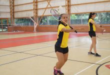 Finalizó concentración del equipo de badminton