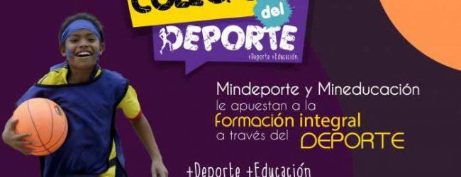 Abierta convocatoria para el proyecto Colegios del Deporte