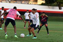 Selección entrena en Goiana pensando en Venezuela