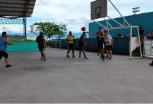 Torneo de baloncesto 3 x 3 en El Pital