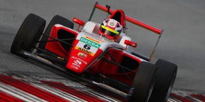 Montoya compitió en fecha de la F4 alemana