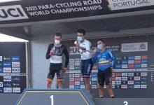 Doble bronce en mundial de paracycling