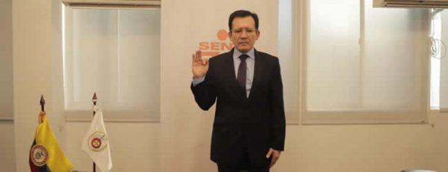 Se posesionó el nuevo director del Sena Huila