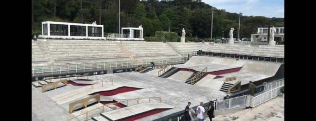 Skaters comienzan competencias en Italia