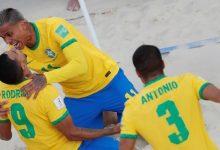 Uruguay y Brasil a cuartos del mundial de fútbol playa