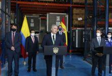 COVID 19: Colombia recibe donación de vacunas de España